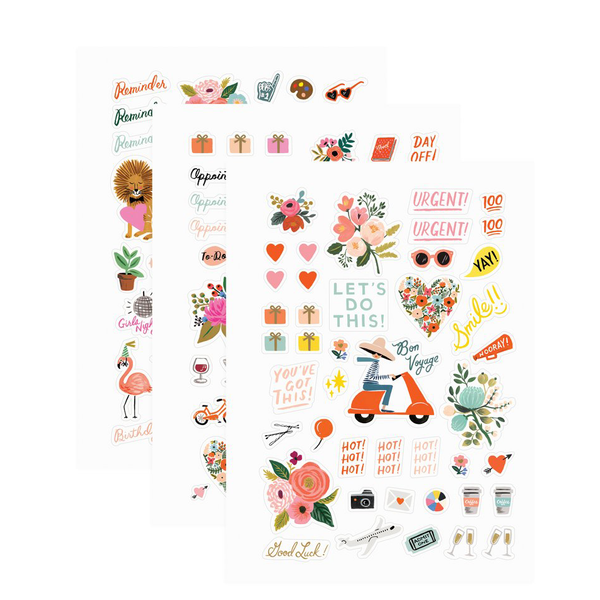 Rifle Paper Co Sticker Sheets