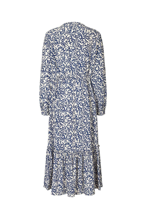 Lollys Laundry Anastacia Dress navy Flower Print
