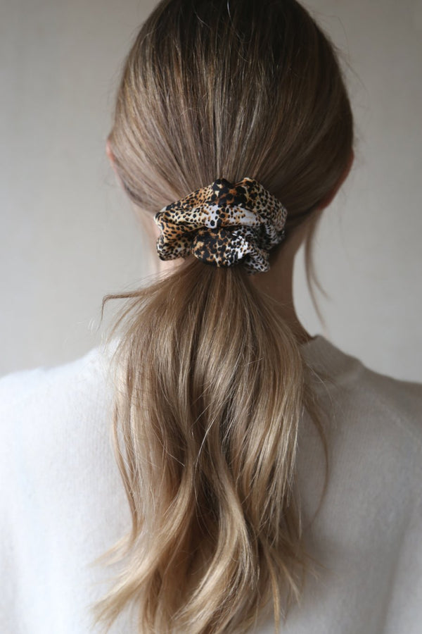 Tutti & Co Nature Print Scrunchie