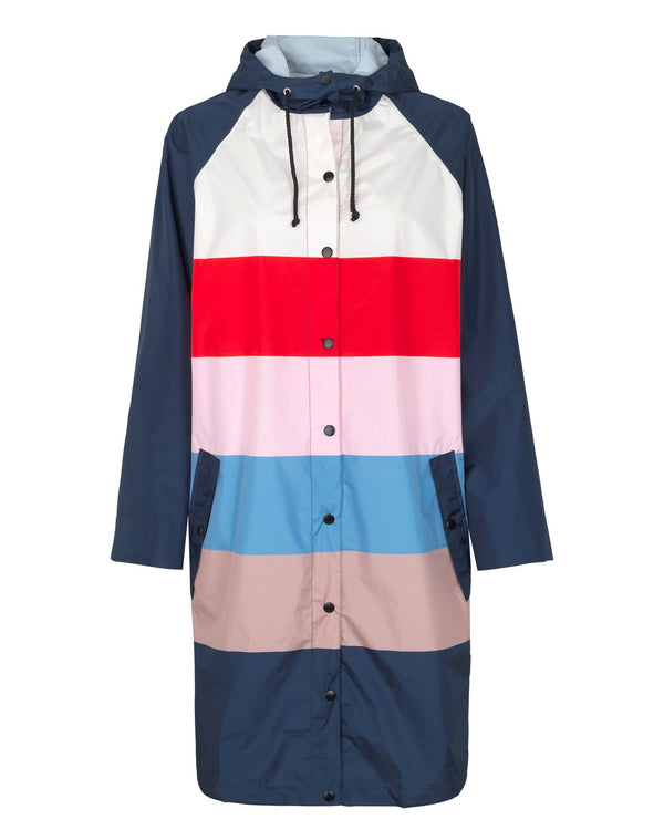 Magpie Block Raincoat