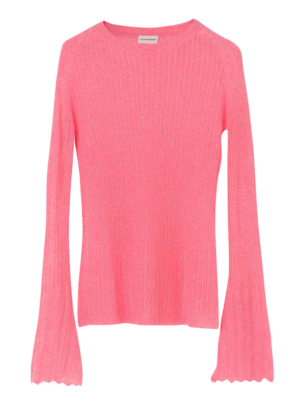 By Malene Birger lightweight pullover knit in a merino wool and alpaca blen