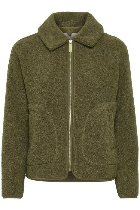 Part Two Afiya Boucle Jacket in Beech Soft Khaki