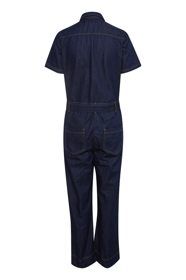 Part Two Trixie Denim Boilersuit
