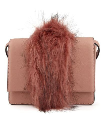 Rioca Fur Trim Bag
