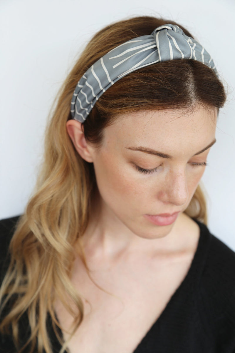 Edit Grey Headband