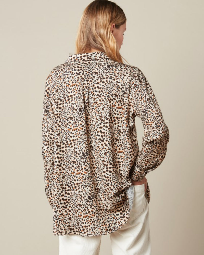 Hartford Charlot Animal Print Shirt