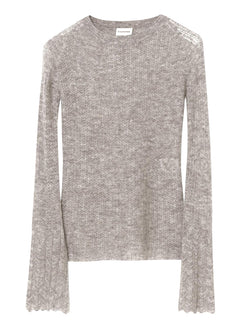 By Malene Birger lightweight pullover knit in a merino wool and alpaca blend