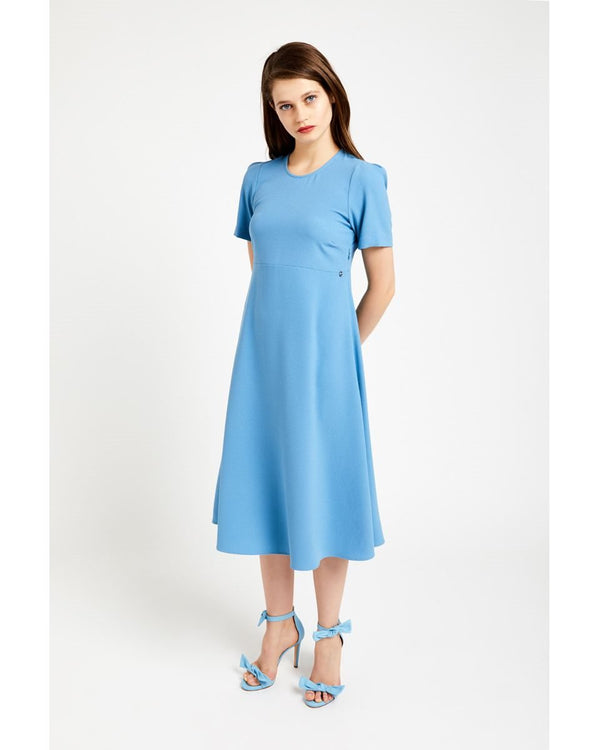 EA3524 Crepe Midi Dress