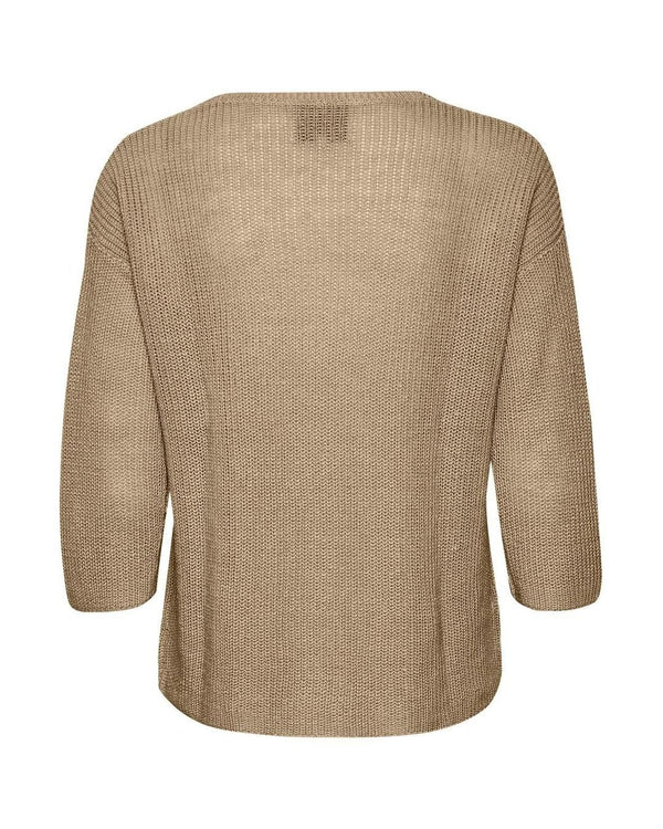 Petrona Linen Sweater