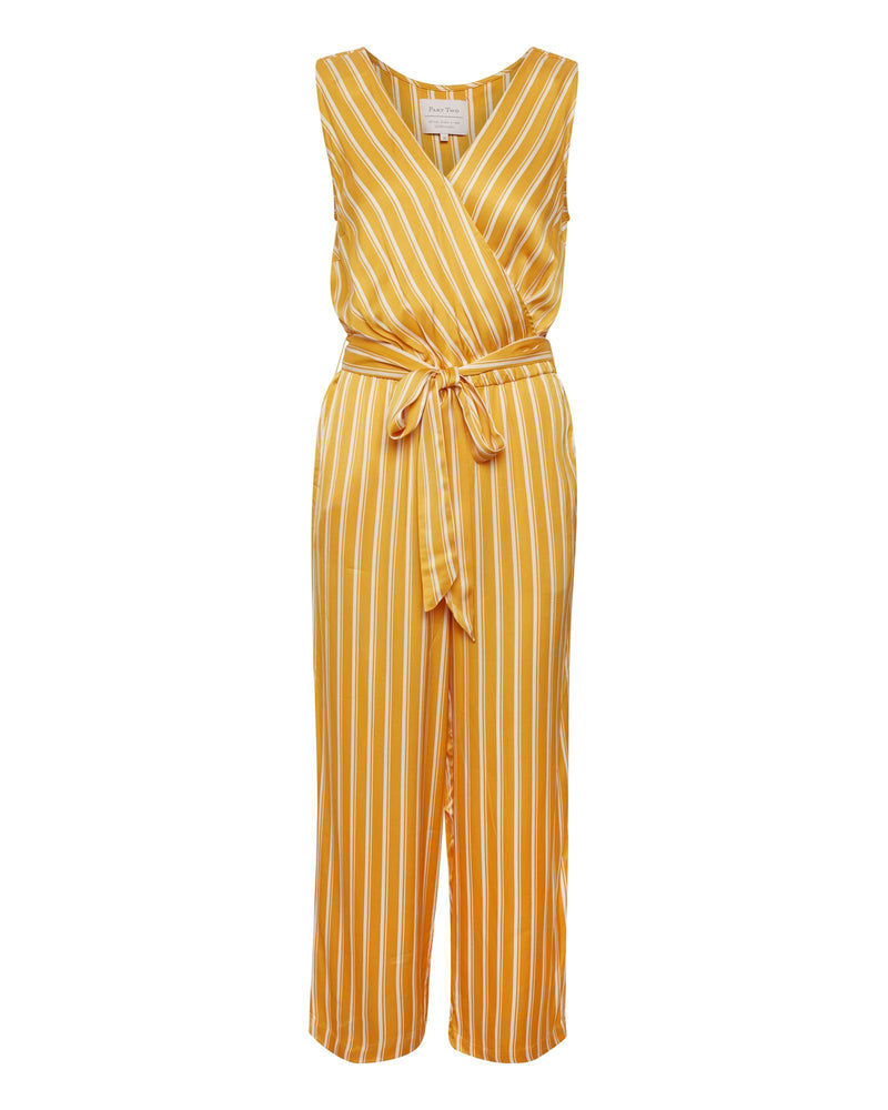 Raja Striped Jumpsuit