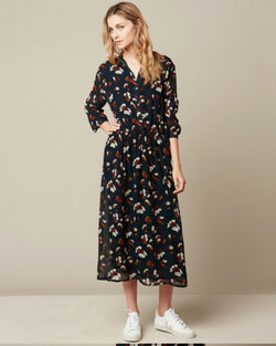 Hartford Radiante Floral Print Dress