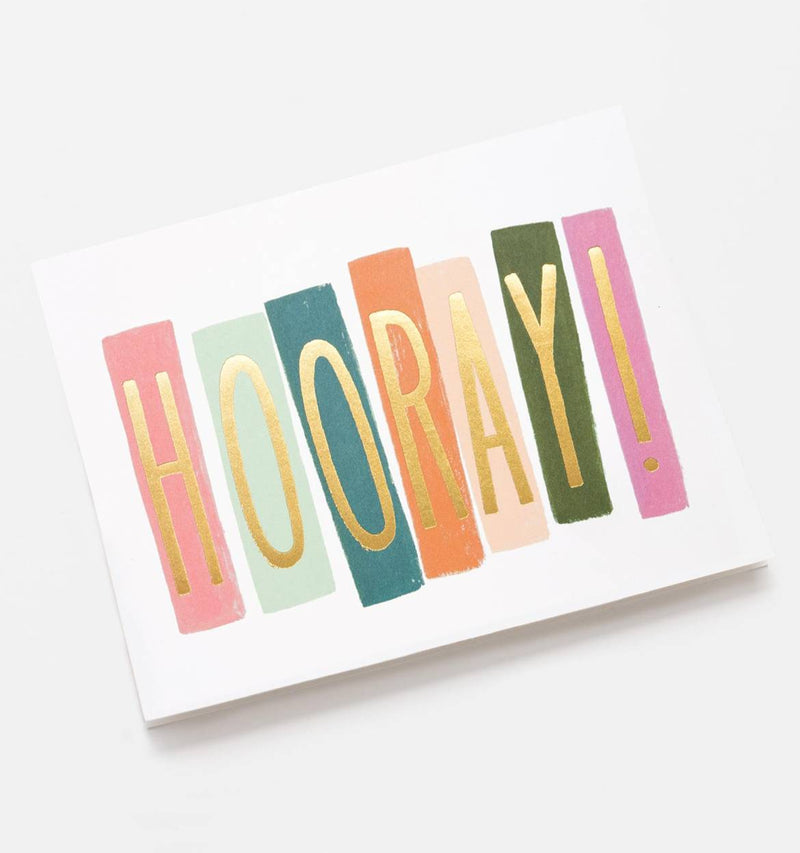 Hooray Greetings Card