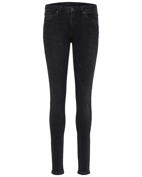 SFIda Black Cropped Jeans