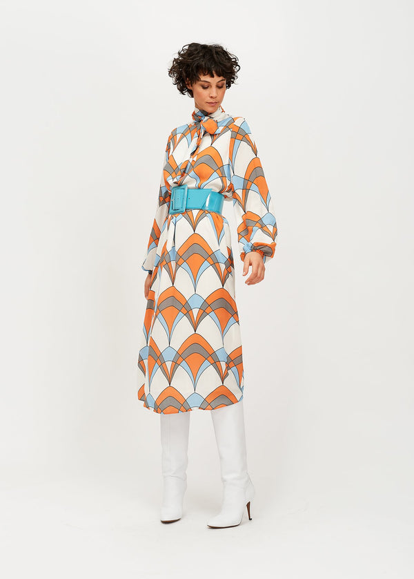 Essentiel Antwerp Tancherachel Print Dress