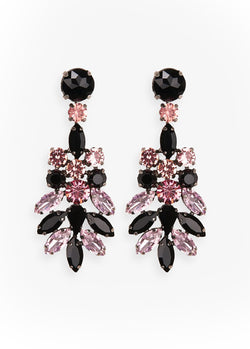 Essentiel Antwerp Valmsprings2 diamante bejewelled earrings