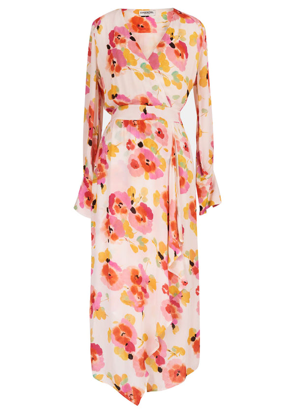 Essentiel Antwerp Valoumi floral print midi dress