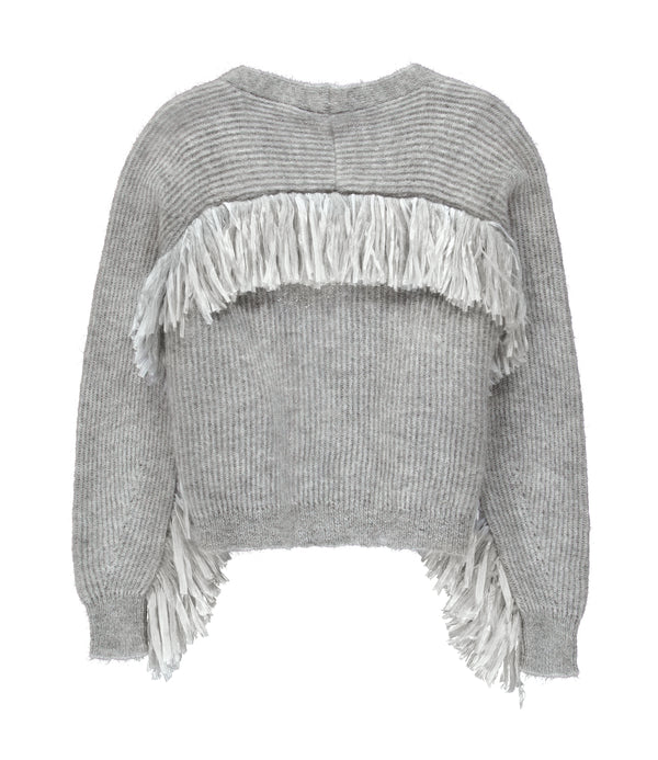 Essentiel Antwerp Viscom Fringed Cardigan