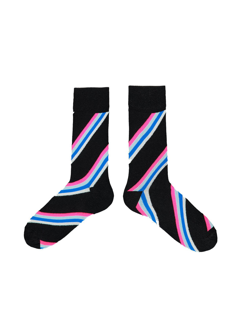 Vray slant striped socks by Essentiel Antwerp
