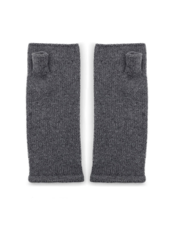 Cashmere wrist warmers by Somerville