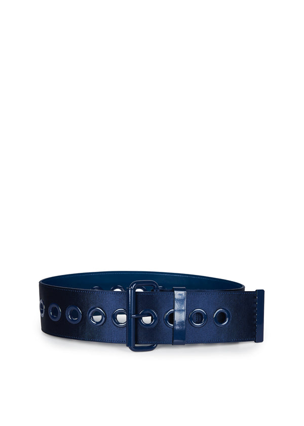 Essentiel Antwerp Zoprosti Wide Belt in Navy