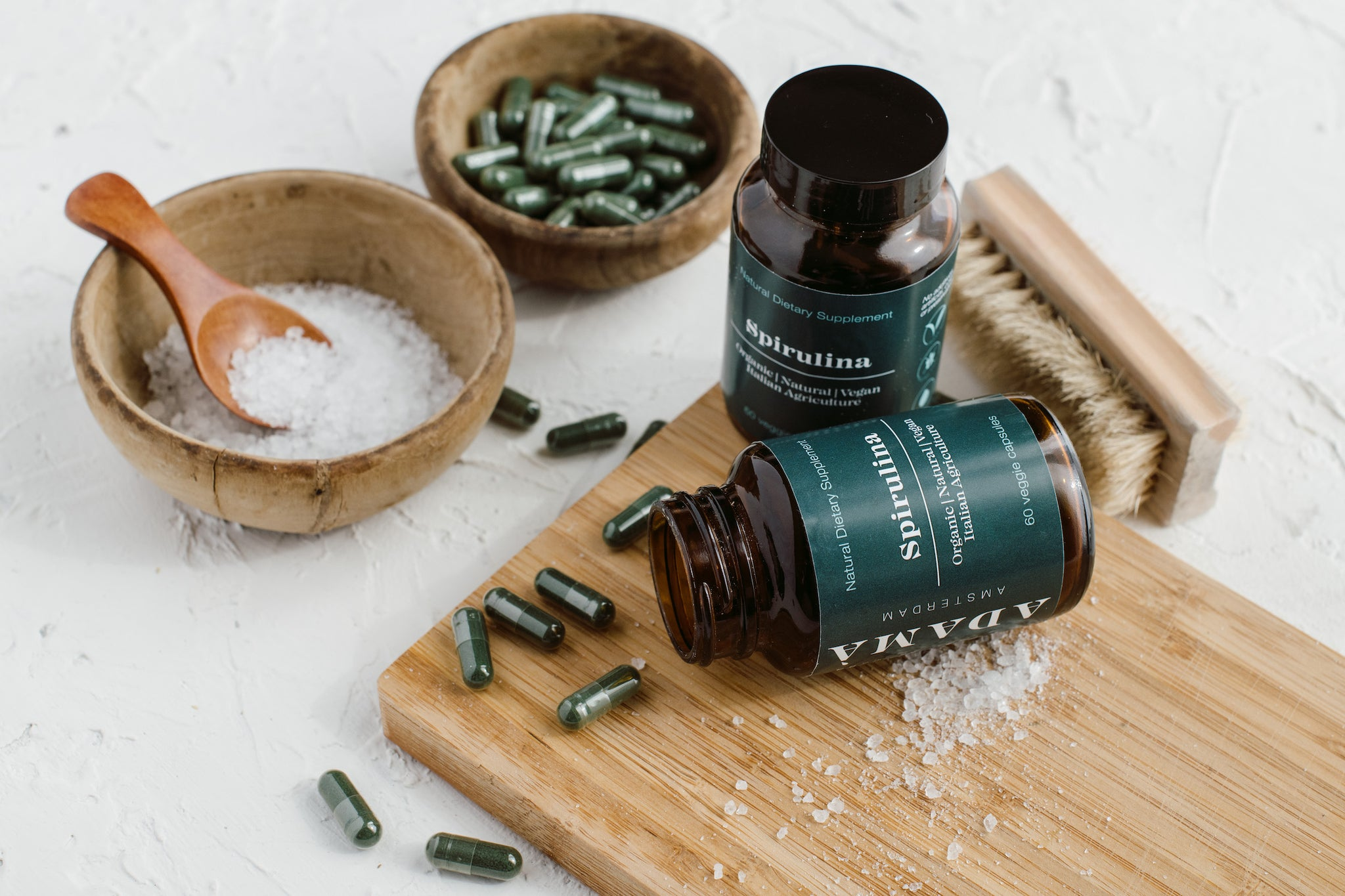 Spirulina Supplement + e-Book