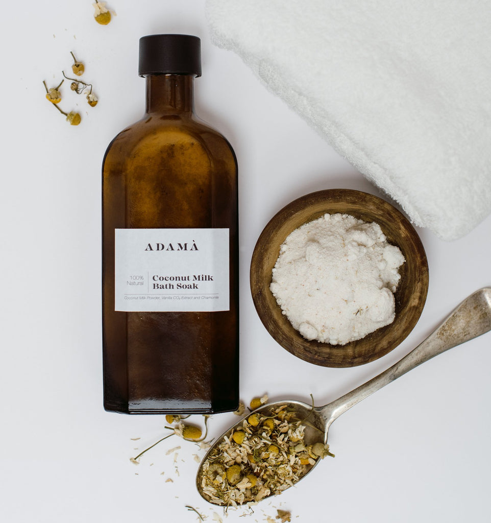 Coconut Milk Bath Soak - Adamà Wellness