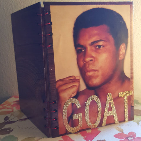 Writing journal, notebook, bullet journal, diary, sketchbook, blank - Muhammad Ali the G.O.A.T - Journal/Sketchbook
