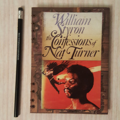 Writing journal, notebook, bullet journal, diary, sketchbook, blank - Required Reading - Confessions of Nat Turner