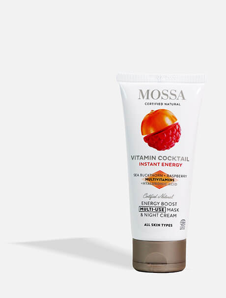 Mossa Vitamin Cocktail Multi-Use Mask & Night Cream -yövoide & naamio