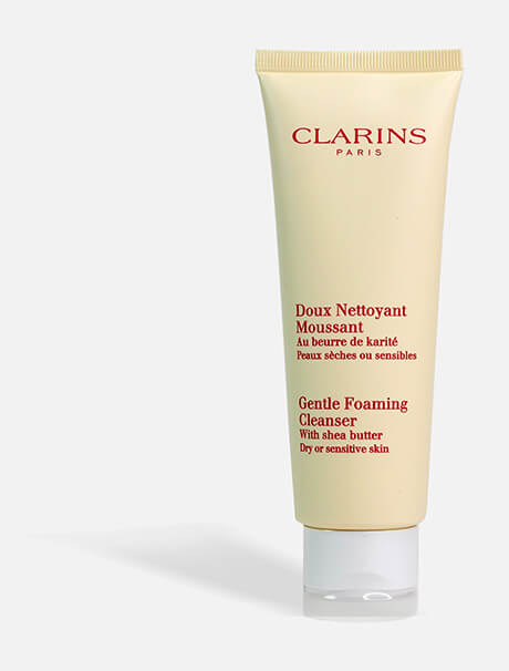 Clarins Gentle Foaming Cleanser Dry or Sensitive Skin -vaahtoava puhdistustuote