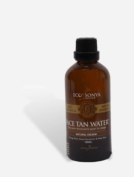Eco by Sonya Face Tan Water -itseruskettava kasvovesi