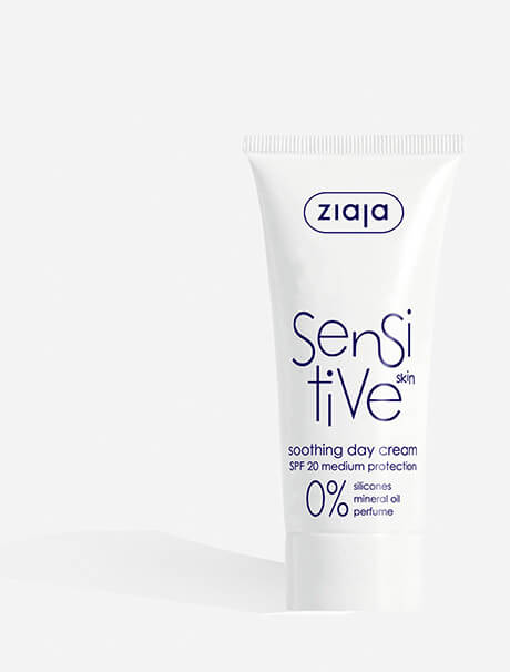 Ziaja Sensitive Skin Soothing Day Cream -päivävoide