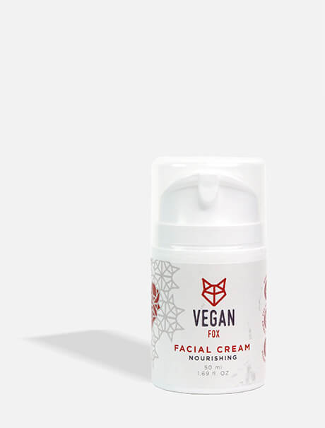 Vegan Fox Nourishing Facial Cream -ravitseva kasvovoide