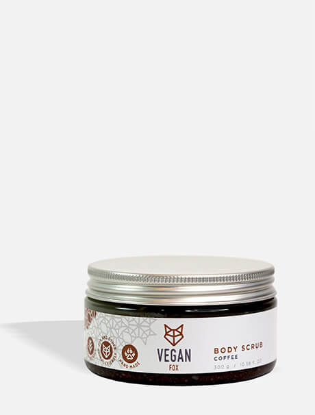 Vegan Fox Coffee Body Scrub -vartalokuorinta