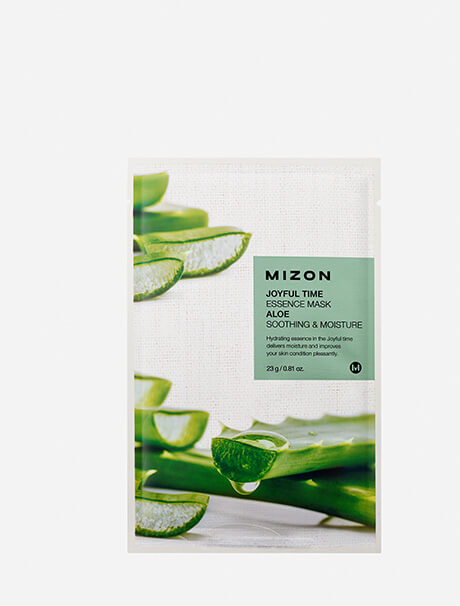 Mizon Joyful Time Essence Mask Aloe -kangasnaamio