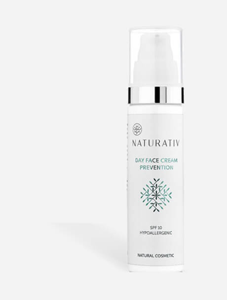 Naturativ Day Cream SPF 10 -päivävoide
