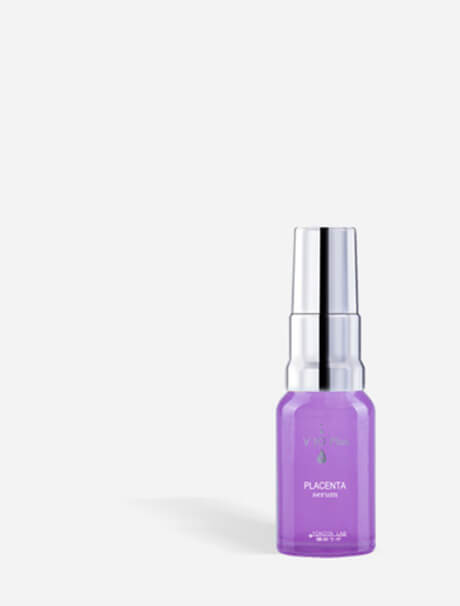 V10 Plus Placenta Serum -kirkastava seerumi