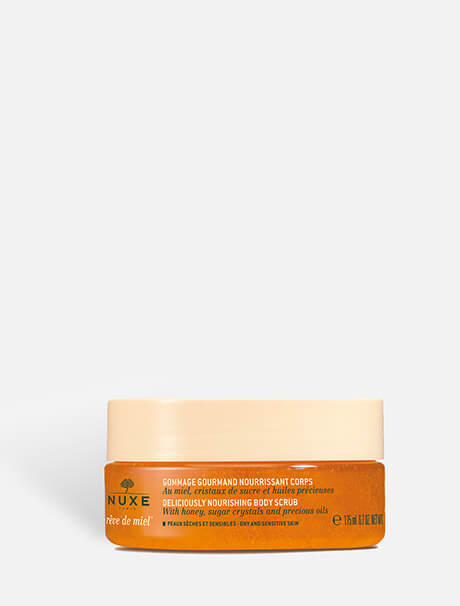 Nuxe Deliciously Nourishing Body Scrub -vartalokuorinta