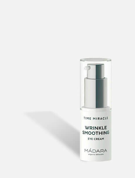 Mádara Time Miracle Wrinkle Smoothing Eye Cream -silmänympärysvoide