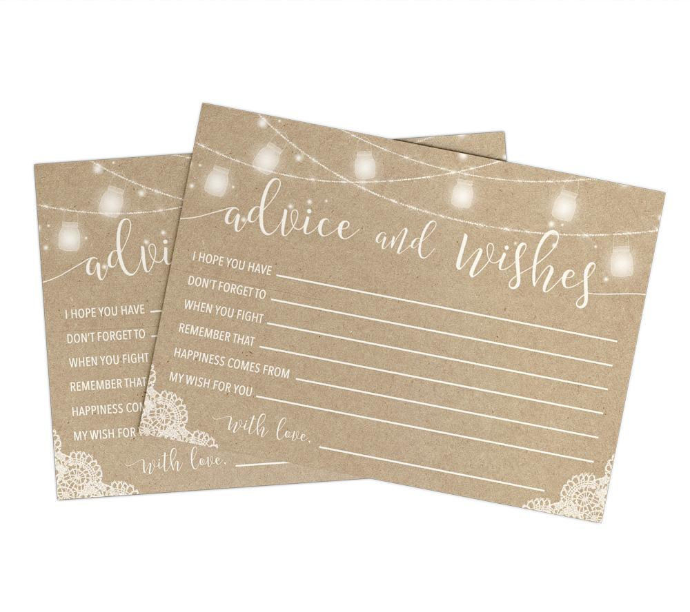 Kraft Advice Cards
