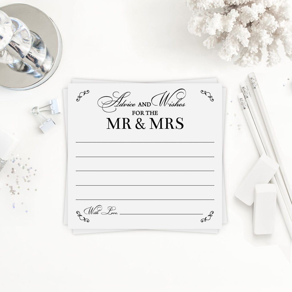 Ms to Mrs Advice Cards
