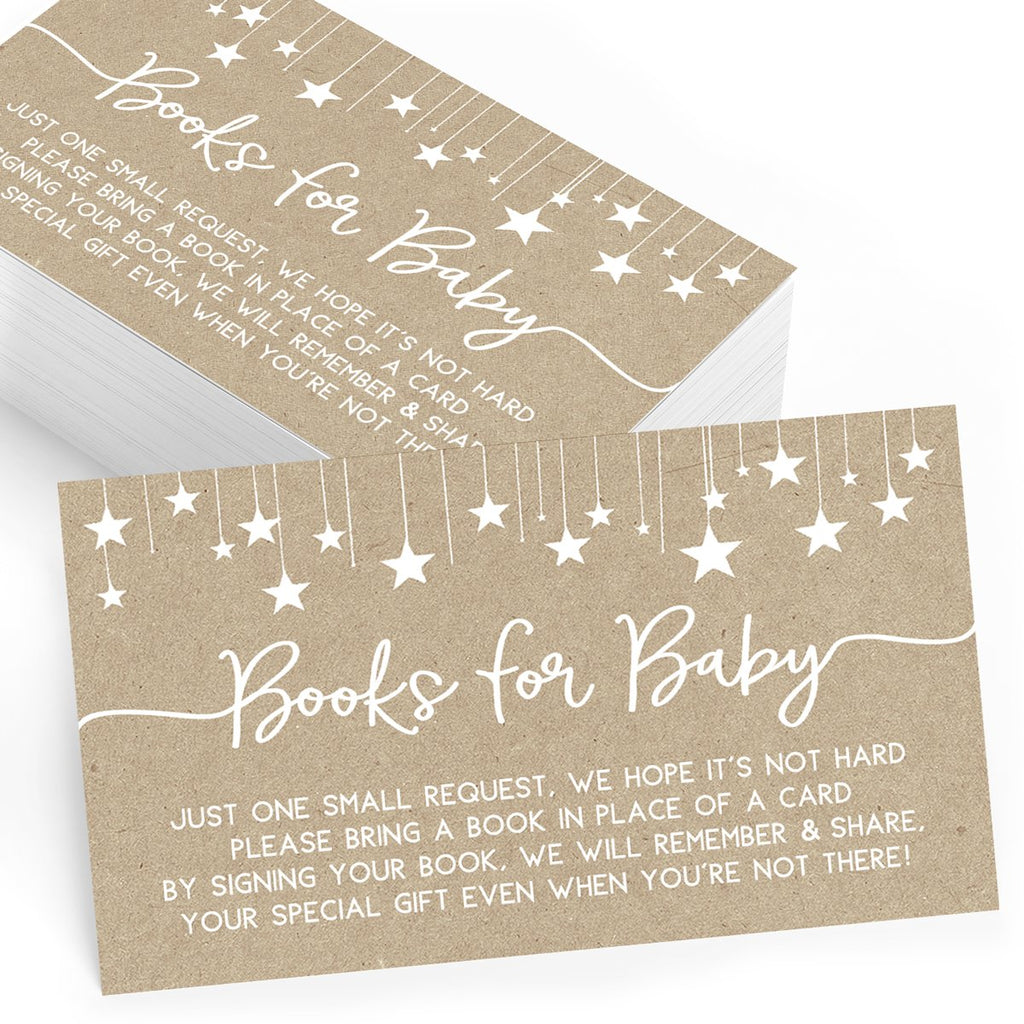 Kraft Baby Book Insert Cards