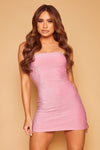 Shimmy Lurex Shimmer Dress - Pink