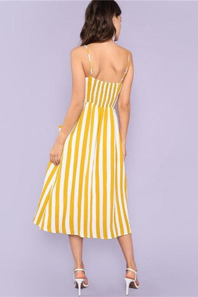 Summer Beach Midi Dress