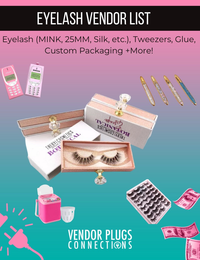 The Ultimate Eyelash Vendor List