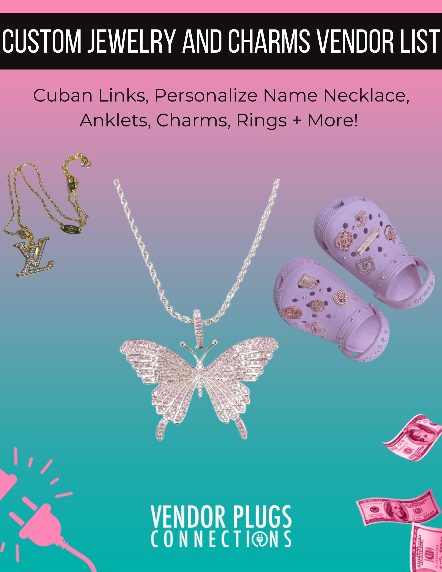 Custom Jewelry And Charms Vendor List
