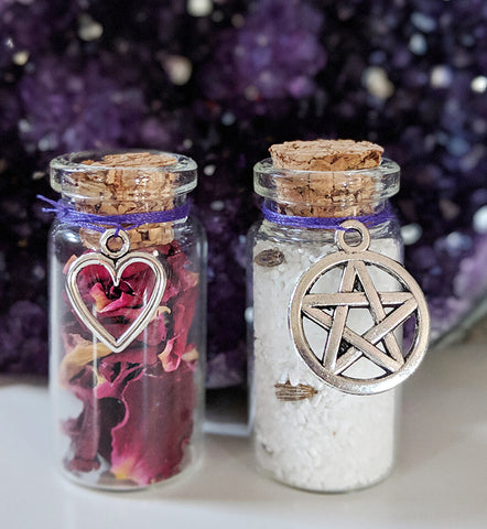 Individual Mini Witch Bottles