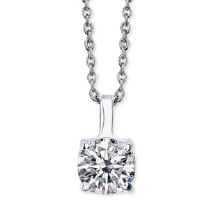 Solitaire Crystal Pendant