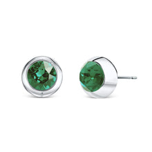 Load image into Gallery viewer, Solitaire Stud Earrings