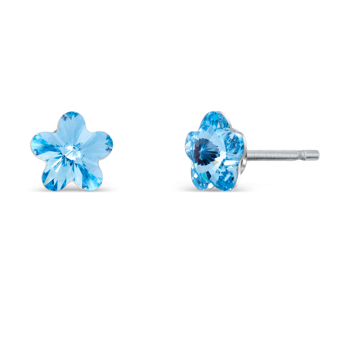 Classic Flower Earrings 10mm
